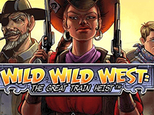 Wild Wild West: The Great Train Heist от Netent играть в слот
