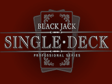 Single Deck Blackjack Professional Serie от NetEnt – игровой слот